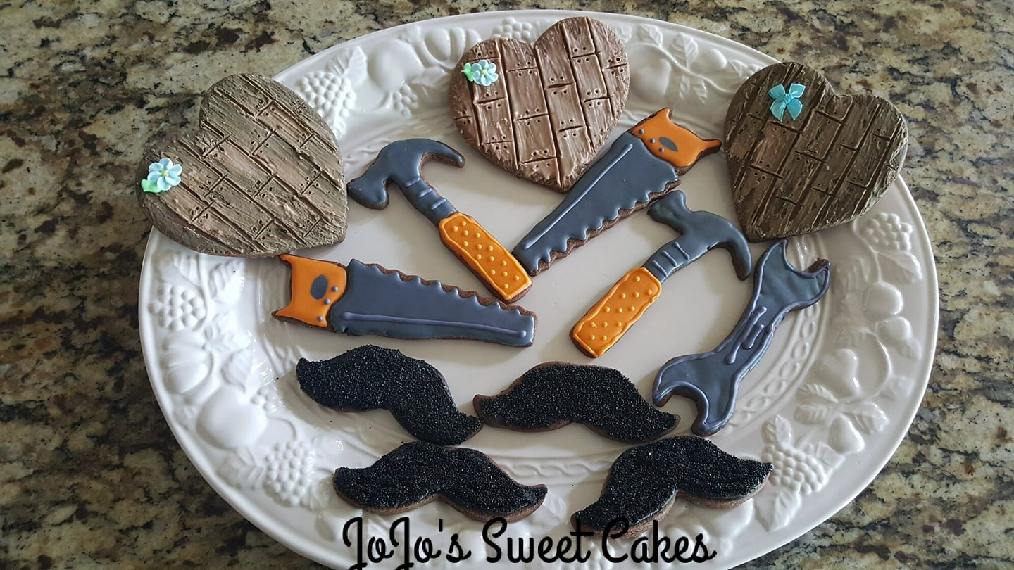 Moustaches, Tools, and Wooden Hearts