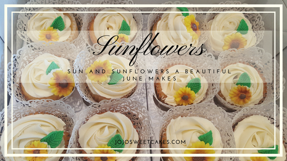 Sun and Sunflowers | Sun and Sunflowers a beautiful June makes. | https://jojosweetcakes.com/sun-and-sunflowers